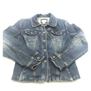 Live a Little Denim Jacket Large